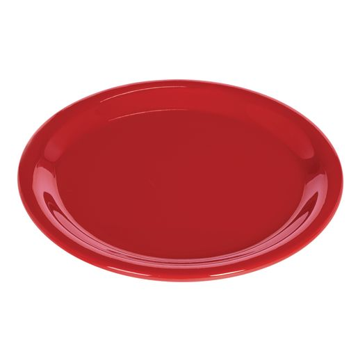 Image of Melamine 6-1/2 Plate Red