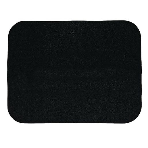 "Self-Sticking Felt Memo Board - Black, 18""H x 23""W"