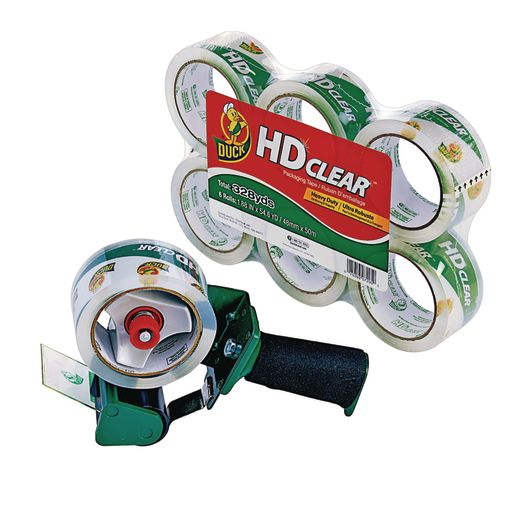 Tape Dispenser with 6 Rolls of Tape
