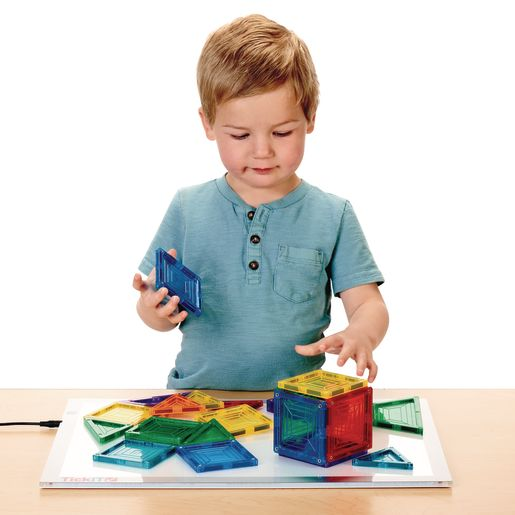 Excellerations® Building Brilliance® Magnetic Shapes 48 Pieces