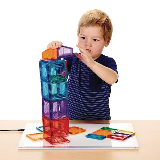 Excellerations® Building Brilliance® Magnetic Shapes 100 Pieces