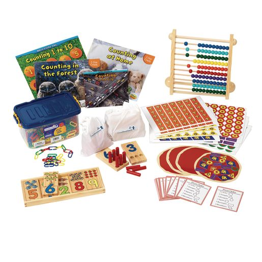 Excellerations® Preschool Math Kit - Counting and Numerousy