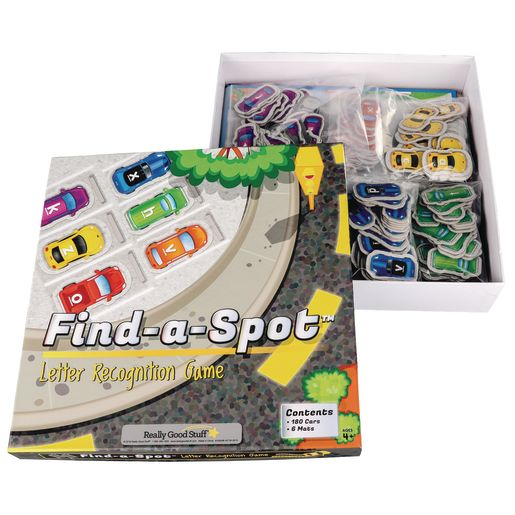 Find-A-Spot™ Letter Recognition Game