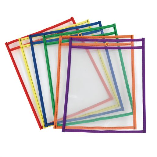 Re-Markable Dry Erase Sleeves - Set of 6