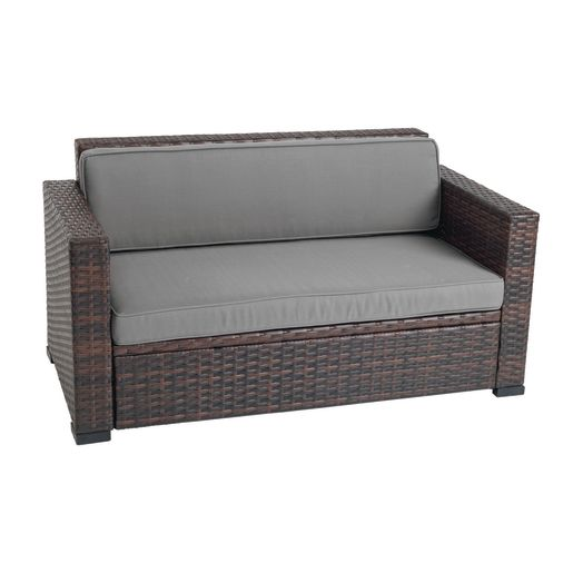 Excellerations® Outdoor Wicker Sofa