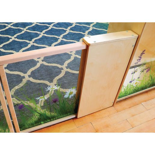 Nature View Room Divider Adjustable Extension