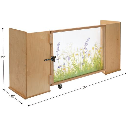 Nature View Room Divider Gate