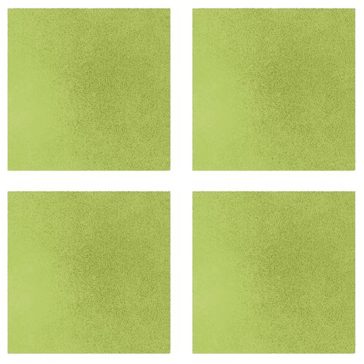 Sound Absorbing Square Wall Tiles, Large -  Lime