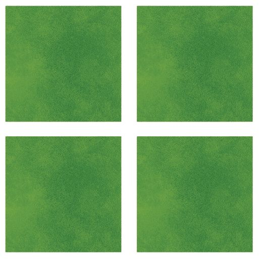 Sound Absorbing Square Wall Tiles, Large - Green