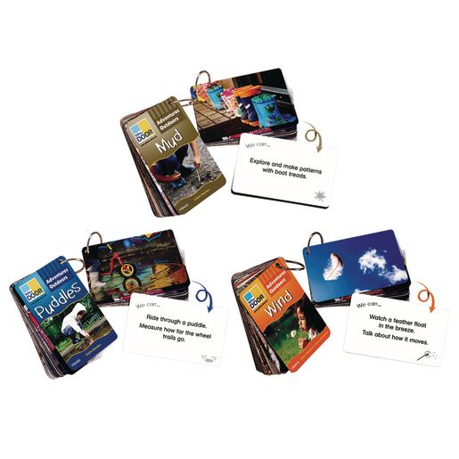 Adventure Outdoor Cards Set of All 3