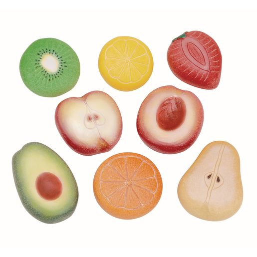 Image of Sensory Outdoor Play Stones Fruit Set of 8