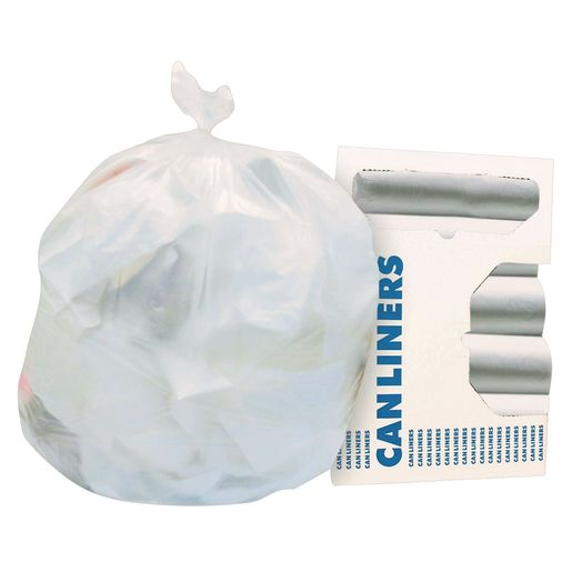 White Trash Bags, 32 Gal - Case of 10 Rolls_0