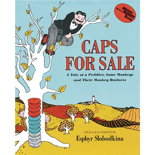 Caps for Sale Paperback Book_0