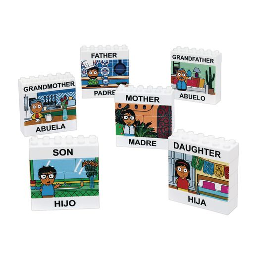 Excellerations® Puzzle Up Hispanic Family - 48 Pieces