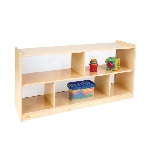 "Angeles® 24""H Clear Back Storage"