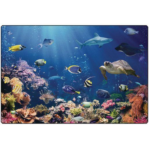 Explore the Ocean 6' x 9' Rectangle Pixel Perfect Carpet