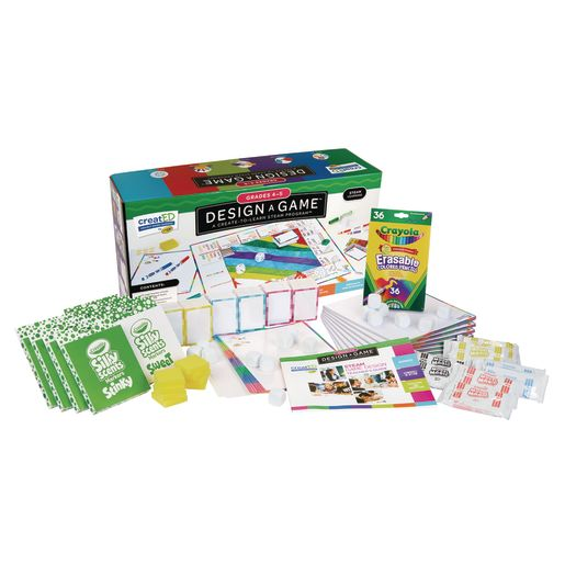 Image of Crayola created STEAM Design-a-Game for Classrooms, Grades 4-5
