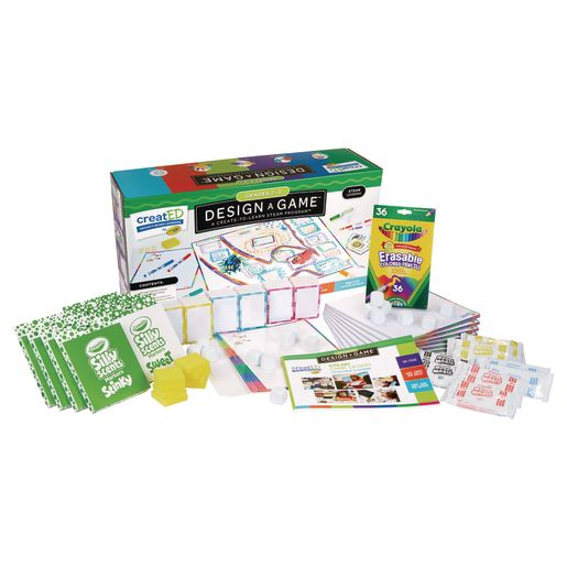 Image of Crayola creatED STEAM Design-a-Game for Classrooms, Grades 2-3