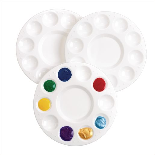 Colorations (R) Round Palettes, Set of 3