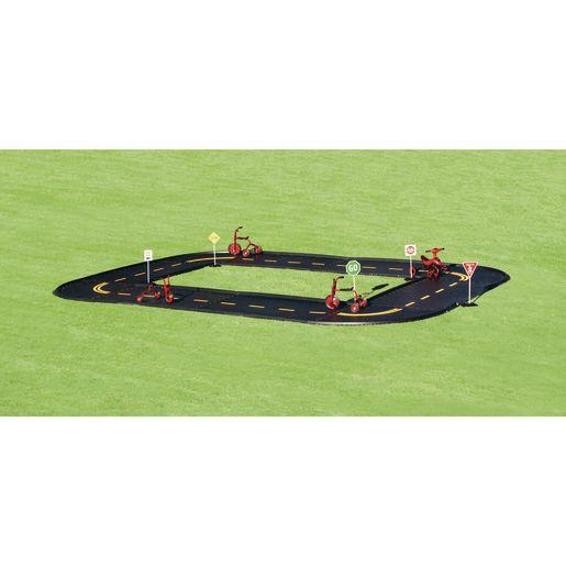 Trike Pedal Path with Stripes- Bristol Oval