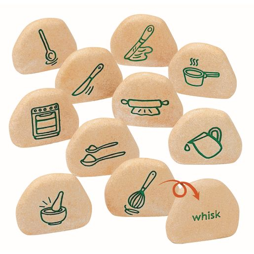 Sensory Outdoor Play Stones Set of 26