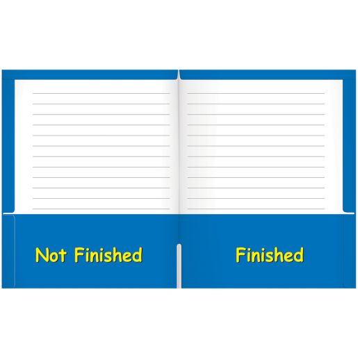 My Writing Folder Laminated - Set of 12