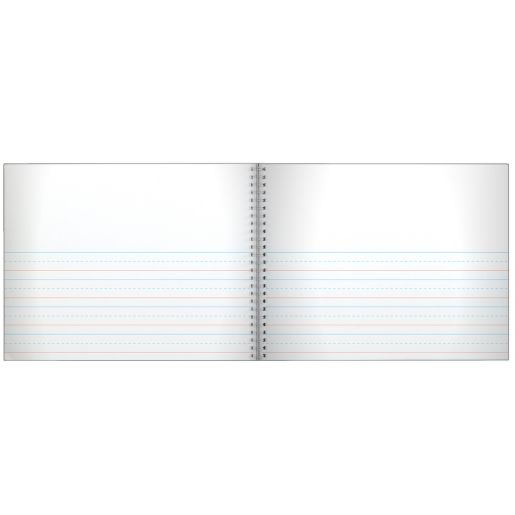 Spiral Landscape Draw And Write Journals (112 page) - Set of 6
