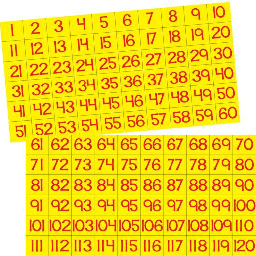 Our Counting Grid Pocket Chart
