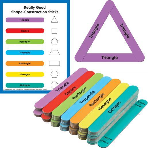 Really Good Shape-Construction Sticks?