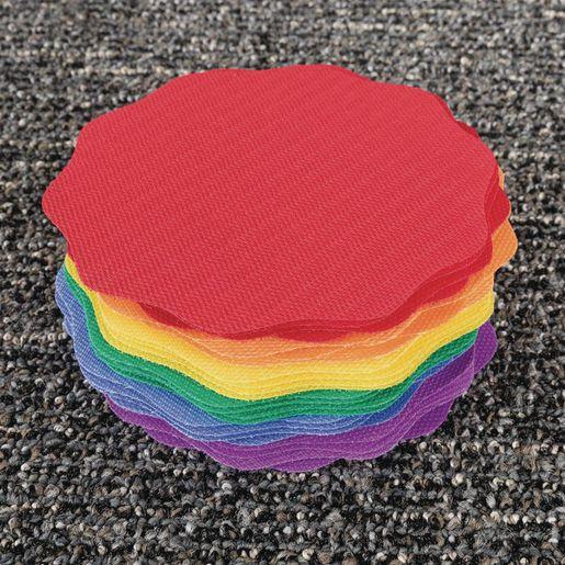 Carpet Mark-Its? -6 Colors - Set of 24
