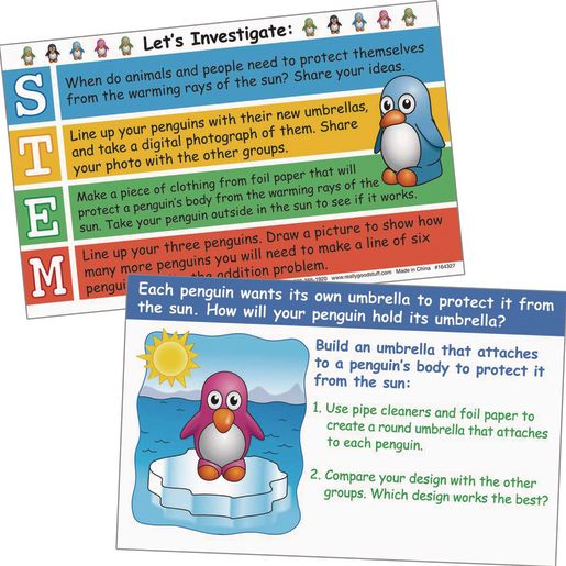 STEM-tivity? Class Kits - Penguin Cool-Down