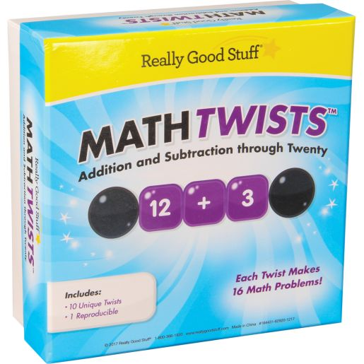 Math Twists? - Addition And Subtraction Through Twenty