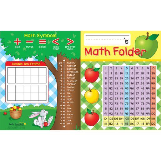 Basic Math Skills 2-Pocket Folders