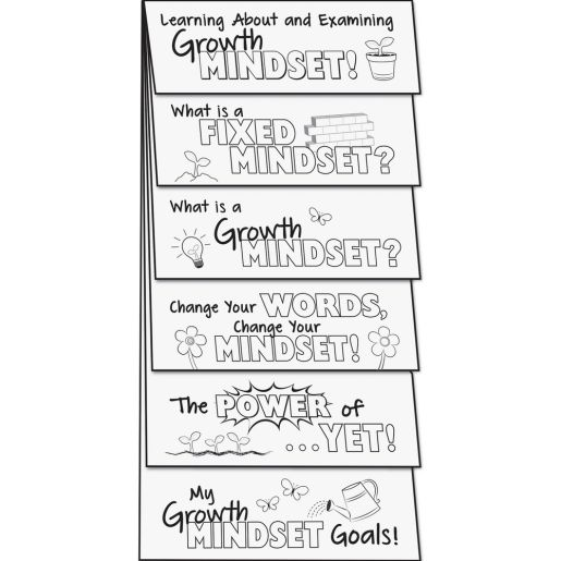 Build Your Own Flip Books? - Growth Mindset