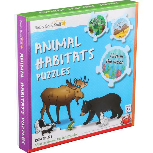 Animal Habitats Puzzles_0