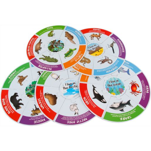 Animal Habitats Puzzles_6