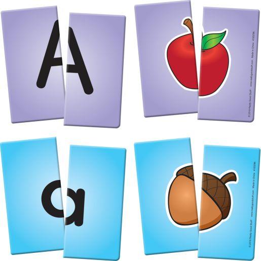 Alphabet Match Sticks