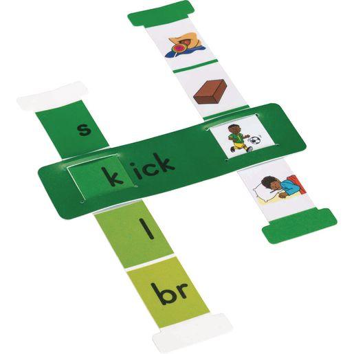 Word Building Sliders: Word Families
