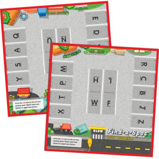 Find-A-Spot? Letter Recognition Game
