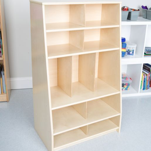 Storage Shelf - Oak