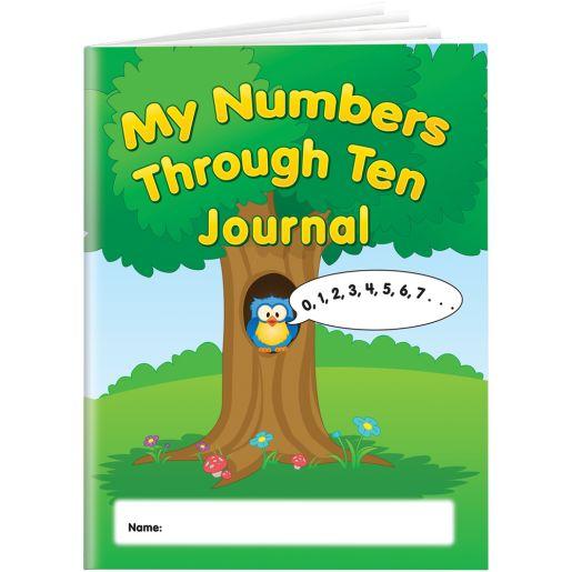 My Numbers Through Ten Journals