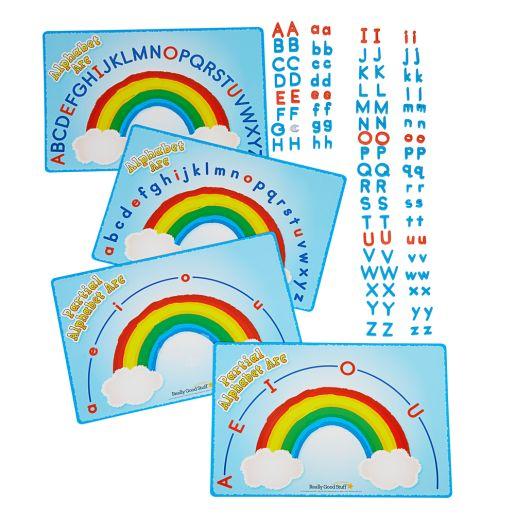 Magnetic Learning Activity Boards Kit \u2013 Alphabet Arcs