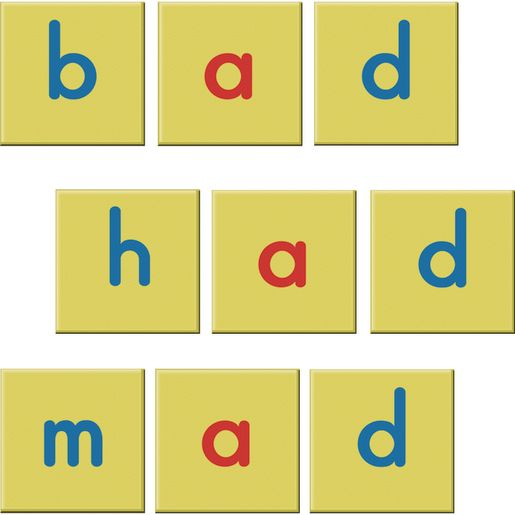 EZread Soft Touch™ Magnetic Foam Letter Tiles