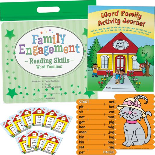 Family Engagement Reading Skills - Word Families