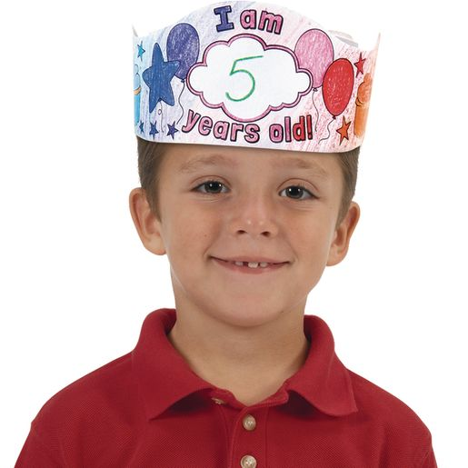 Ready-To-Decorate® Birthday Crowns