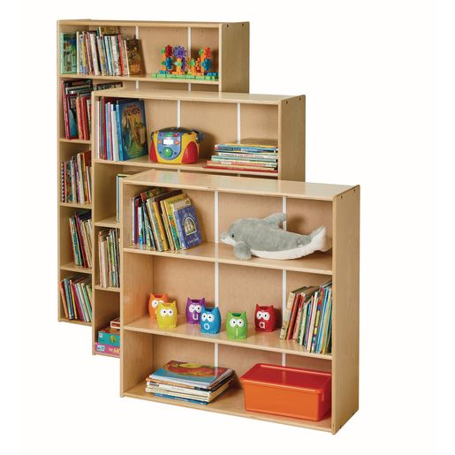"""Adjustable Shelf 60""""H Bookcase - Ready to Assemble"""