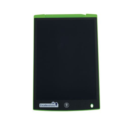 Excellerations® Electronic Reusable 11-inch LCD Drawing Board - Green