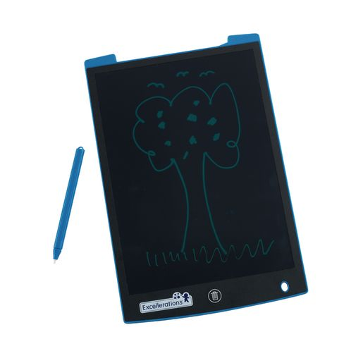 Excellerations® Electronic Reusable 11-inch LCD Drawing Board - Blue