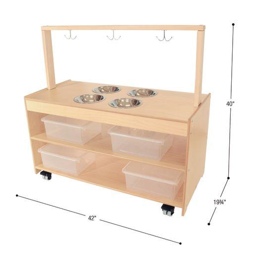 Sensory Play Kitchen