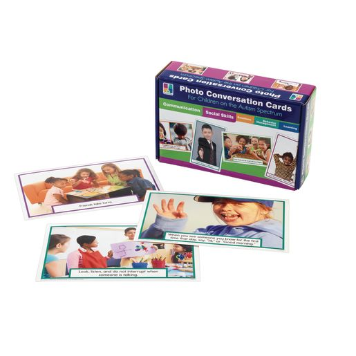 Photo Cards (89) for Children w/Autism